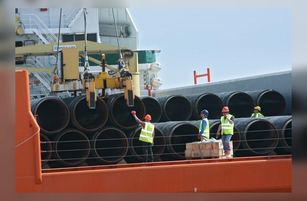 Nord Streami uued torud võivad tulla Eesti majandusvööndisse