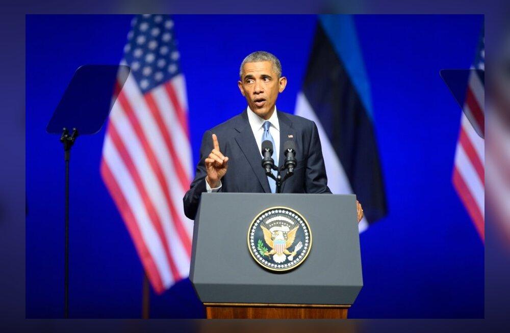 Barack Obama Tallinnas