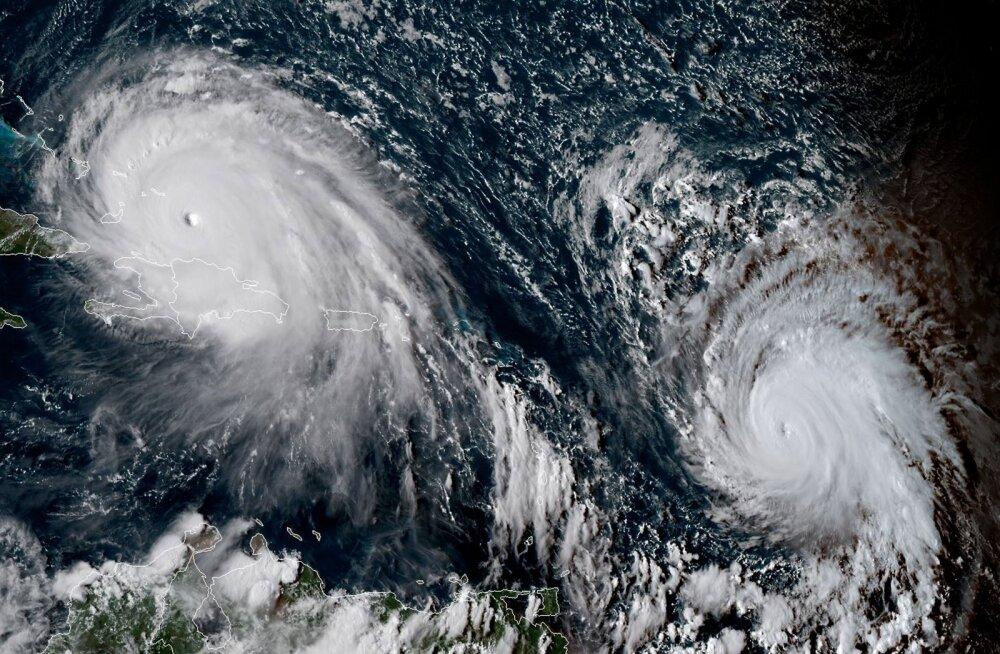 Juba tuleb järgmine: Irma kannul liikuv torm Jose on paisunud kolmanda kategooria orkaaniks