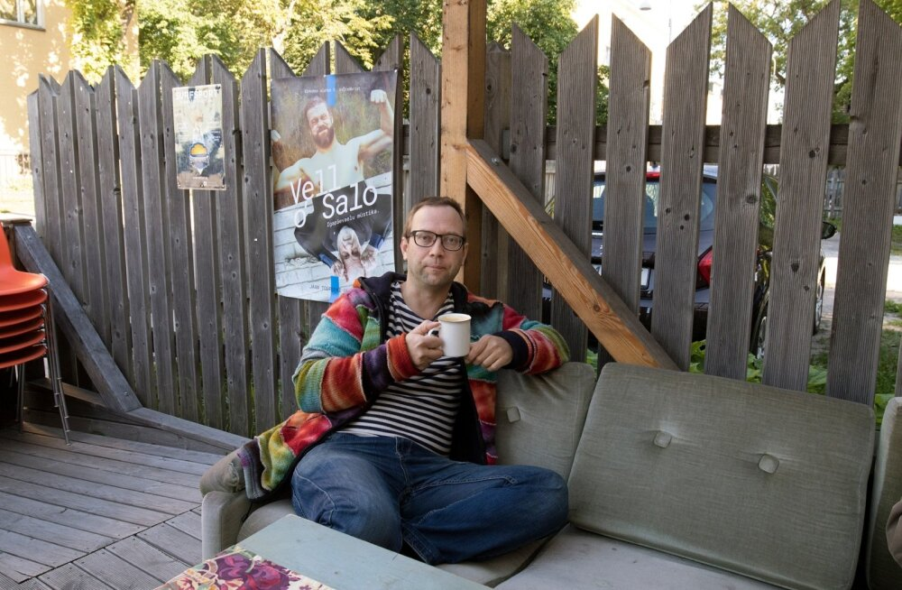 Kalamaja plank, Vello Salo plakat ja Jaan Tootsen, kohvitassist rääkimata.