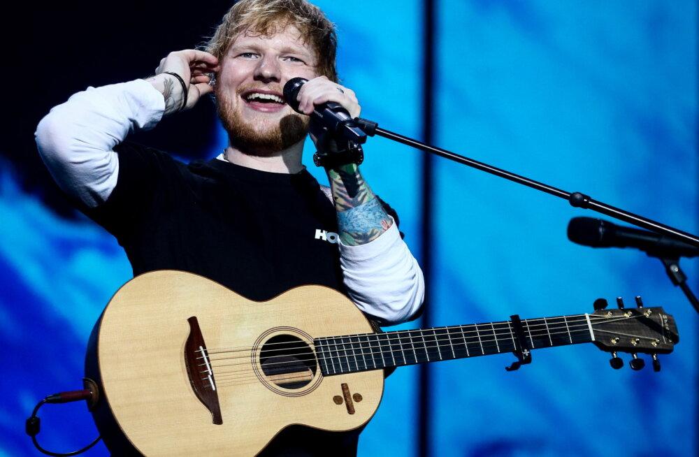 Vägev! Ed Sheeran purustas legendaarse 8 aastat püsinud U2 rekordi