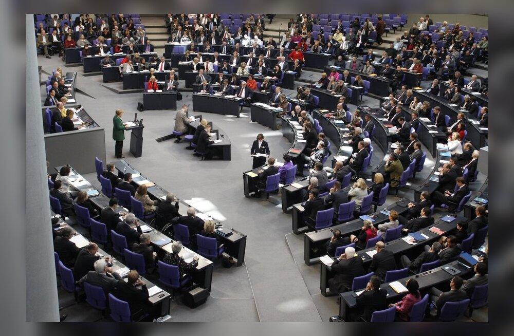 Saksa parlament paneb kuu lõpus Kreeka päästeplaani hääletusele
