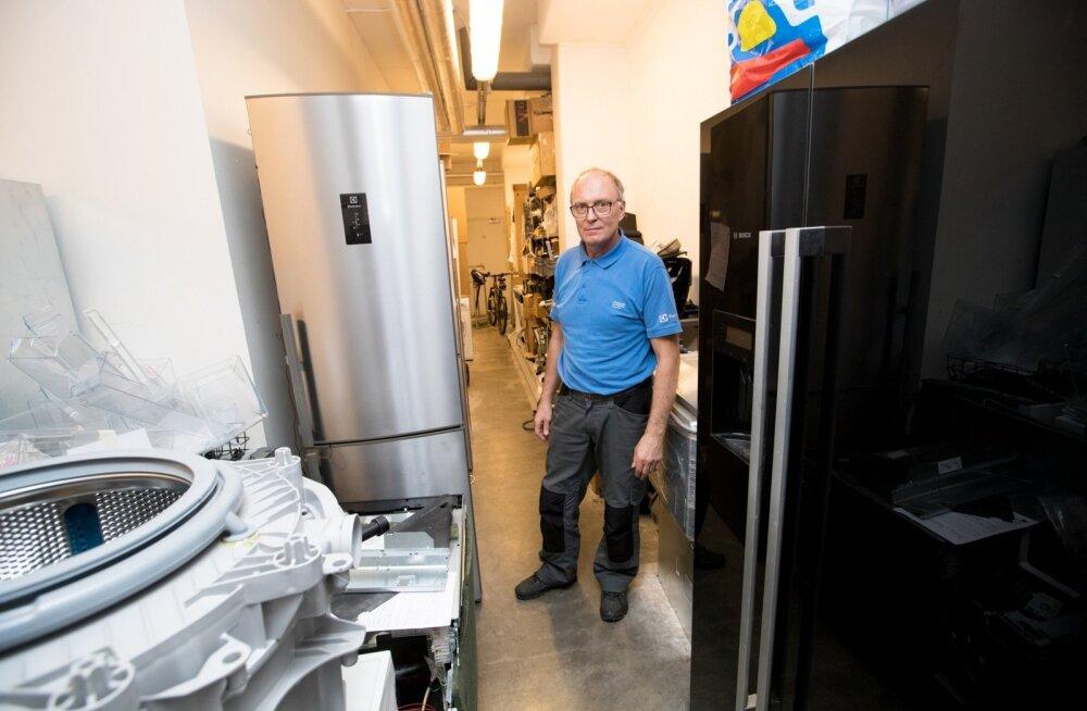 fe20f63bc17 Firma Eliser spetsialist Toomas Jalakas kinnitab, et hooldusvaba püsib  külmkapp eeldusel, et toiduosakesed ei
