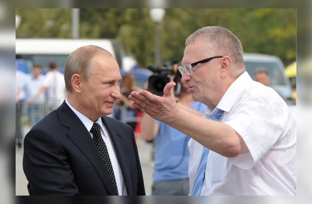 Žirinovski tegi Putinile ettepaneku hakata Venemaa ülemvalitsejaks