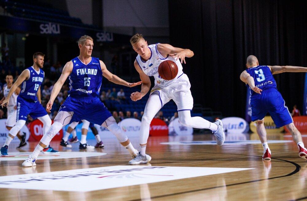 Soome- Eesti korvpall