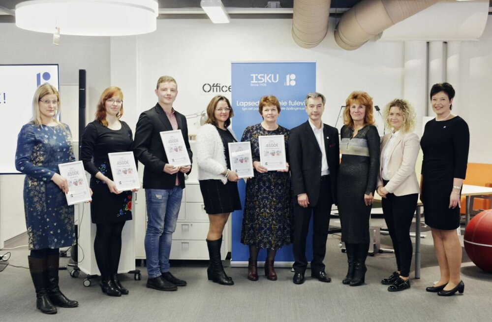 ISKU kinkis Eesti 100. sünnipäevaks viiele koolile uue sisustuse