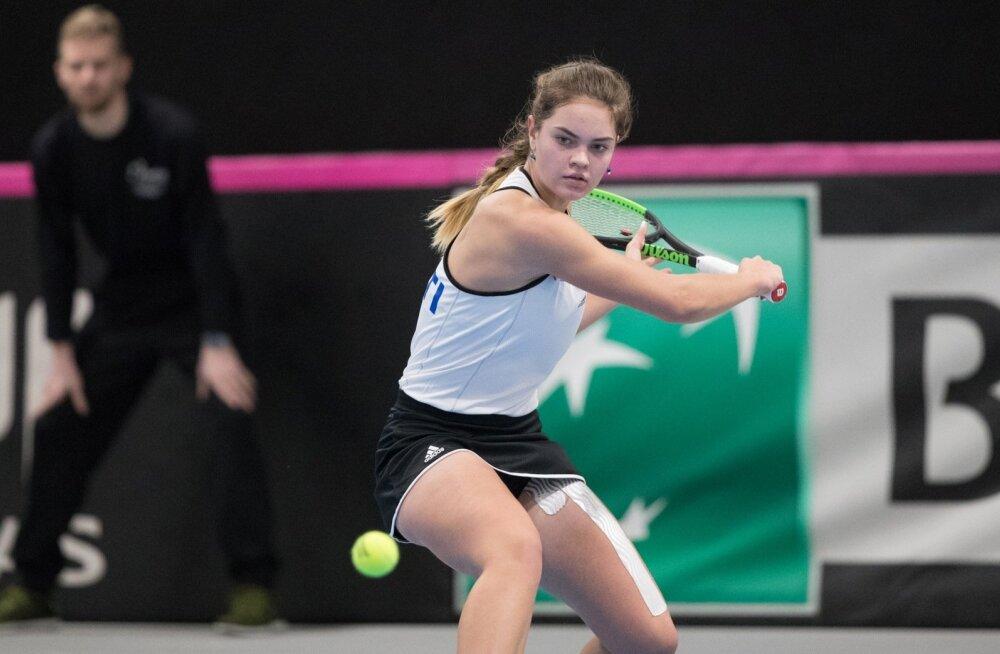 Tennise Fed Cup Tallinnas: Eesti-Portugal
