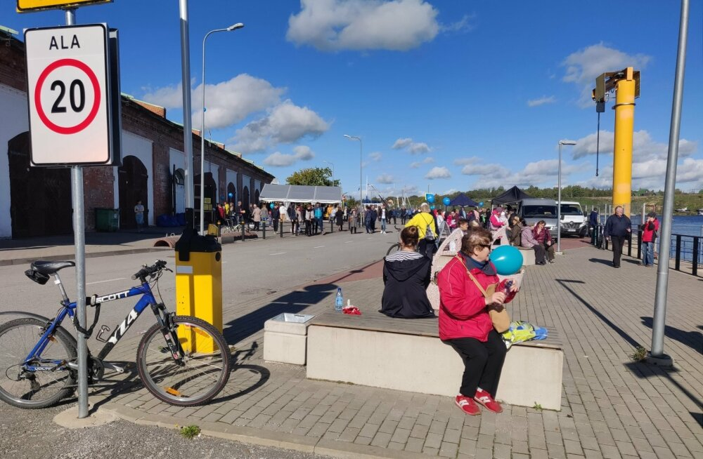 Station Narva, Perepäev
