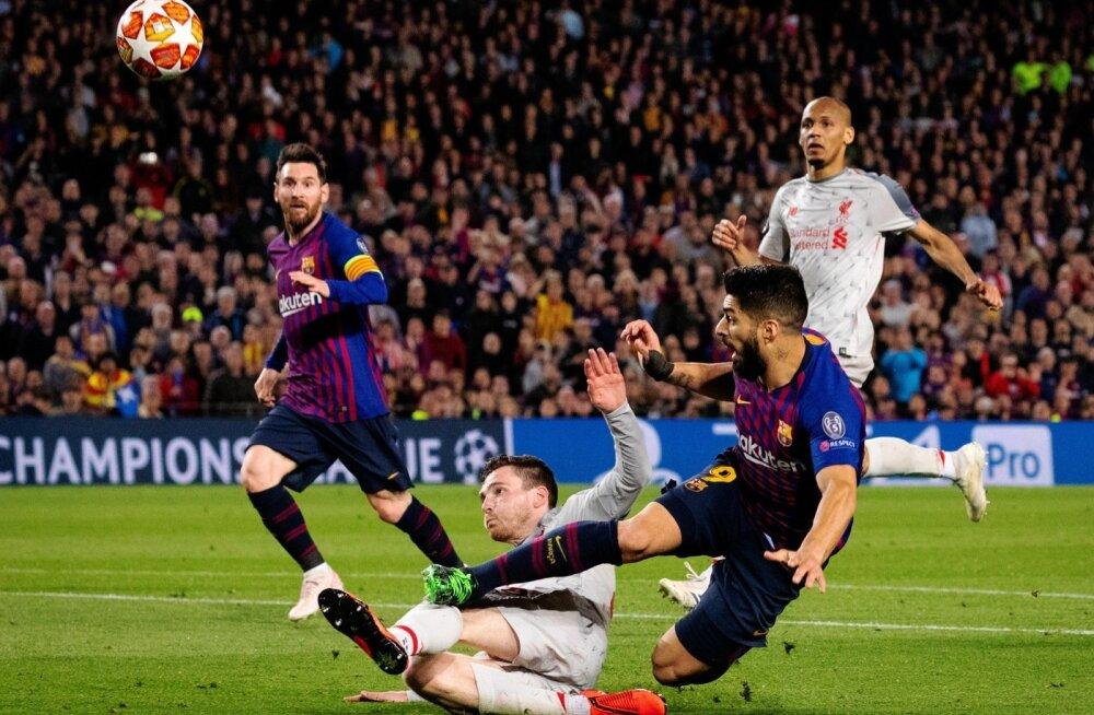 FC Barcelona suutis avamängus FC Liverpooli 3:0 üle mängida.