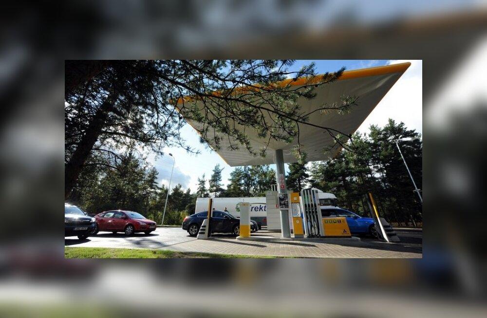 FOTOD: Alexela Oil avas Tallinna piiril uue automaattankla