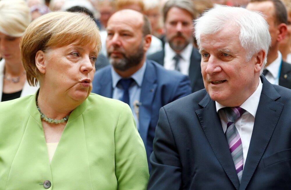 Merkel jõudis Baieri sõsarparteiga sisserände asjus kokkuleppele