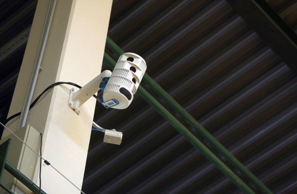Täna jõuab teleritesse esimene Eesti spordivõistlus, mille on üles võtnud robotkaamerad