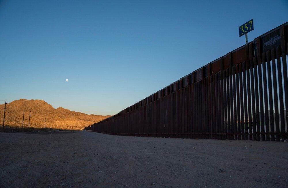 Pentagon andis volituse miljardi dollari eraldamiseks müüri ehitamiseks USA-Mehhiko piirile
