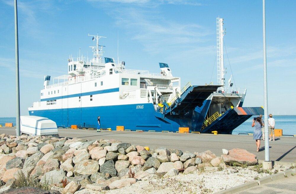 Parvlaeva ootejärjekord  Kuivastus