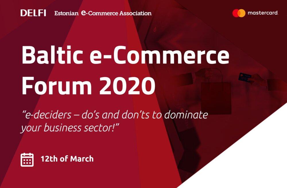 Baltic e-Commerce Forum 2020 toob Tallinnasse kokku e-kaubanduse suurimad tegijad