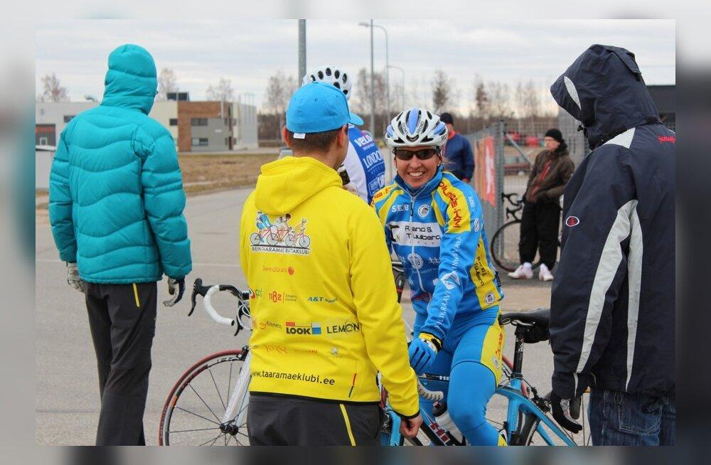 Grete Treier, jalgratas