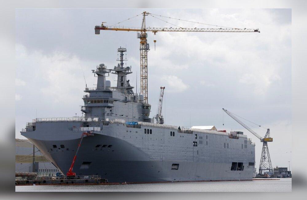 Venemaa kaitseministeerium ei näe Prantsusmaa loobumises Mistrali üleandmisest erilist tragöödiat