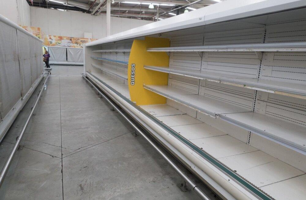 Venezuela parlament kutsus valitsust ähvardava näljahäda tõttu välisabi paluma