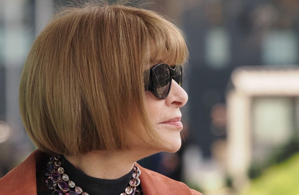 Главный редактор Vogue Анна Винтур призывает людей оставаться дома