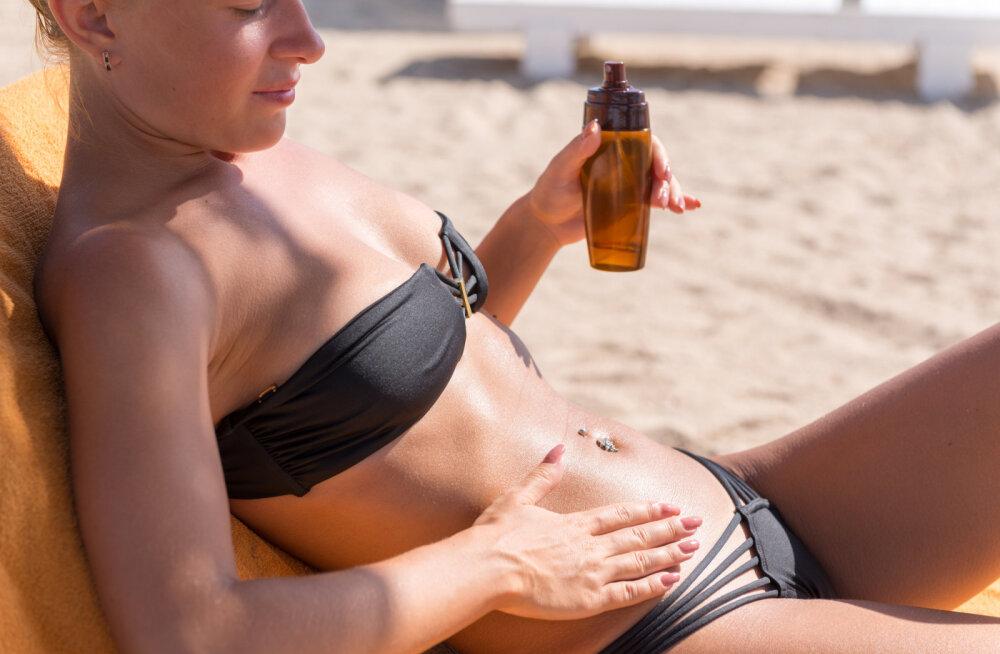 13 looduslikku päikesekaitsefaktoriga õli, mis ei lase päikesel su nahale liiga teha