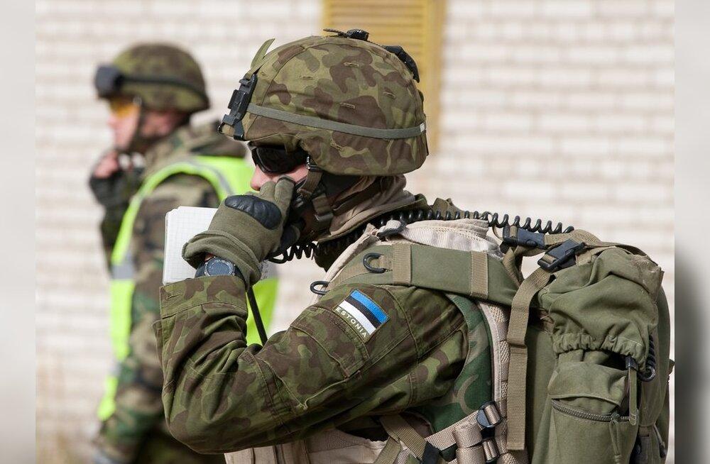 Kaitsevägi osaleb Balti riikide ja USA ühisõppusel Lätis