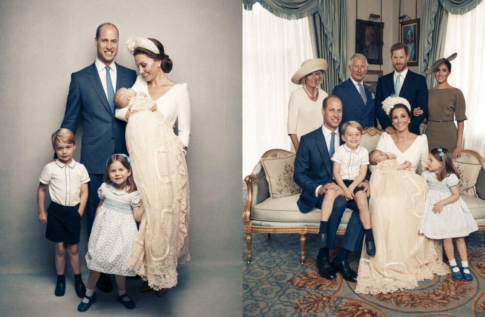 KAUNID FOTOD | Avalikustati prints Louis' ametlikud ristimispildid