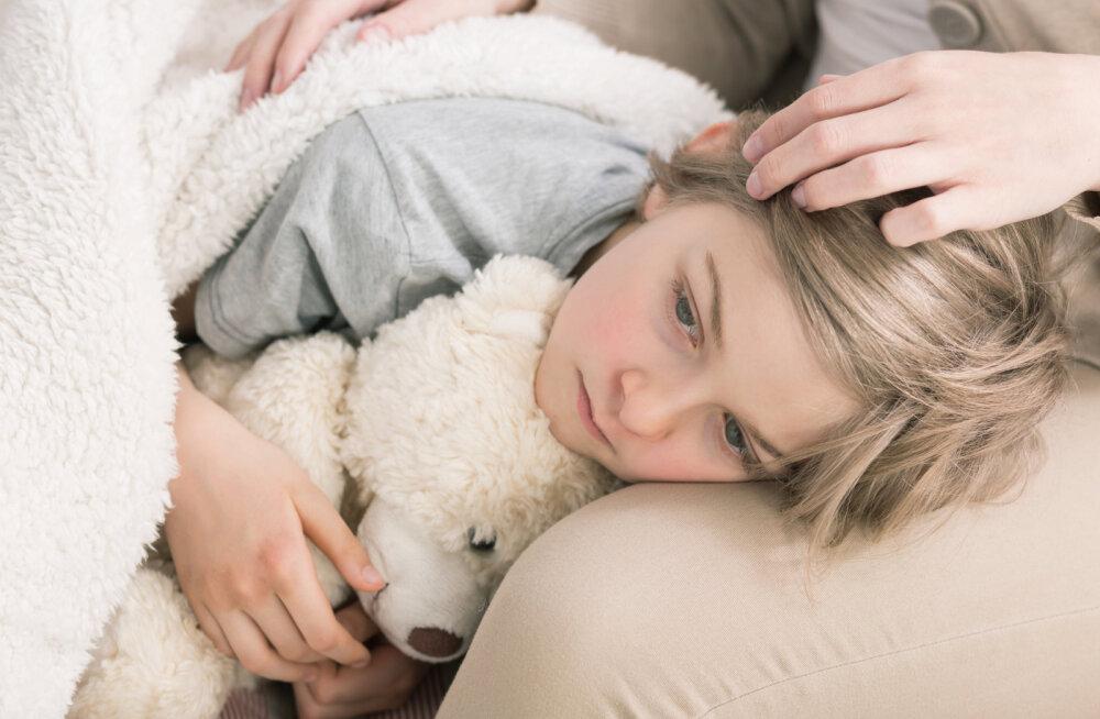 Kas lastehaigused on osa inimeseks kujunemise protsessist?