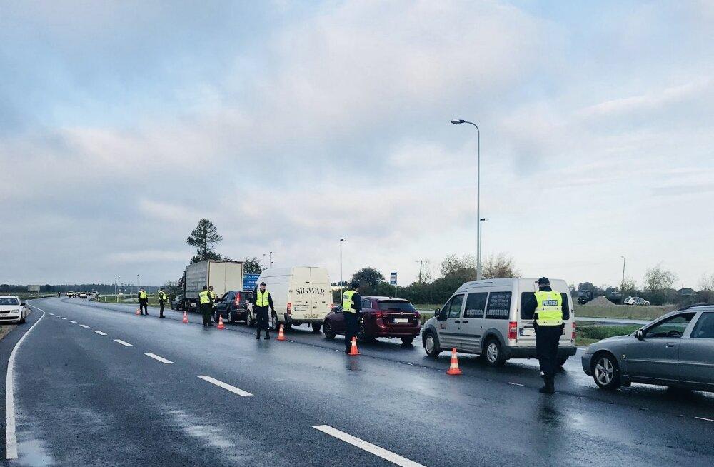 Полицейские Идаской префектуры задержали сегодня 18 нетрезвых водителей