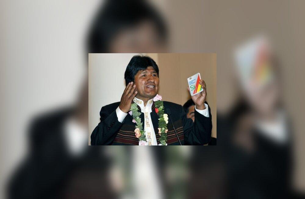 USA hoiatas Boliiviat tõsiste tagajärgede eest