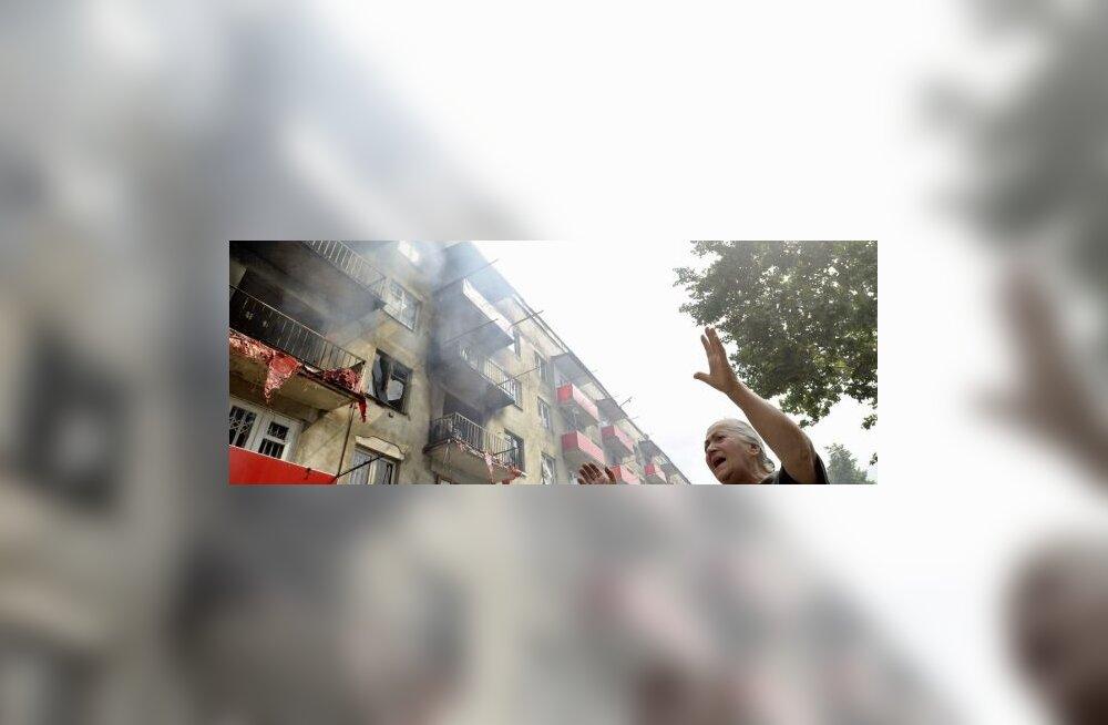 Kaug-Idas plahvatas elumaja - hukkus 7 elanikku