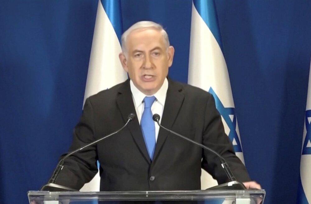 Iisraeli peaminister Netanyahu kaitses end vihaselt altkäemaksusüüdistuste vastu