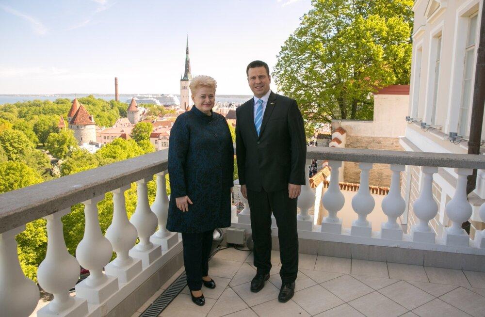 Jüri Ratas ja Dalia Grybauskaitė