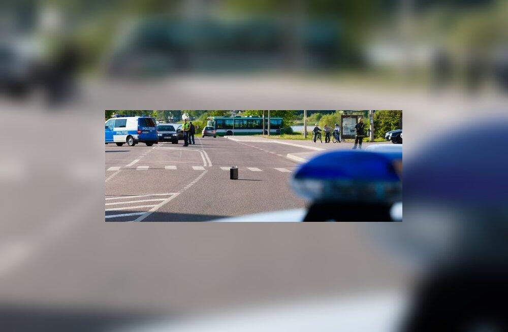 Скрывавшийся от полиции спровоцировал цепную аварию