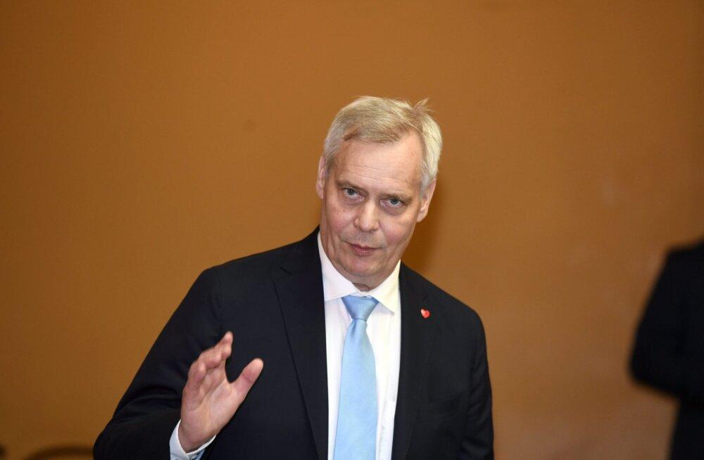 Soome värske peaminister Antti Rinne saabub homme esimesele välisvisiidile Eestisse