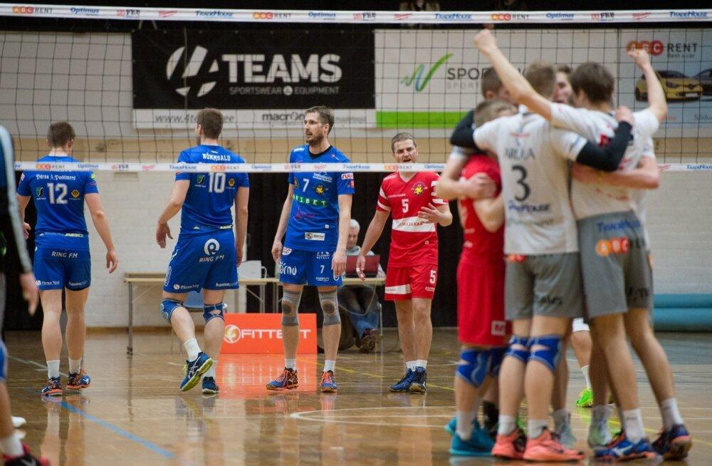 Võrkpall TTÜ vs Pärnu