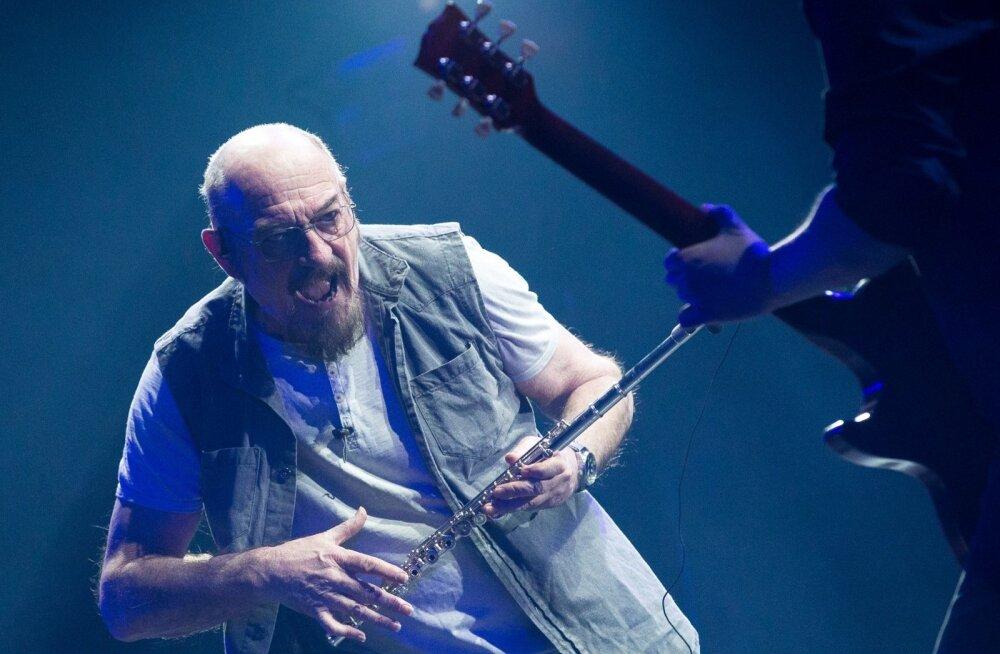 50 aastat lavakarjääri teinud maailma üks karismaatilisemaid lauljaid Ian Anderson esitas Tallinnas Jethro Tulli kuulsamaid palu.