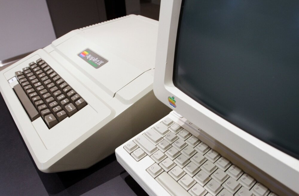 Apple´i arvutite näitus LHV kontoris