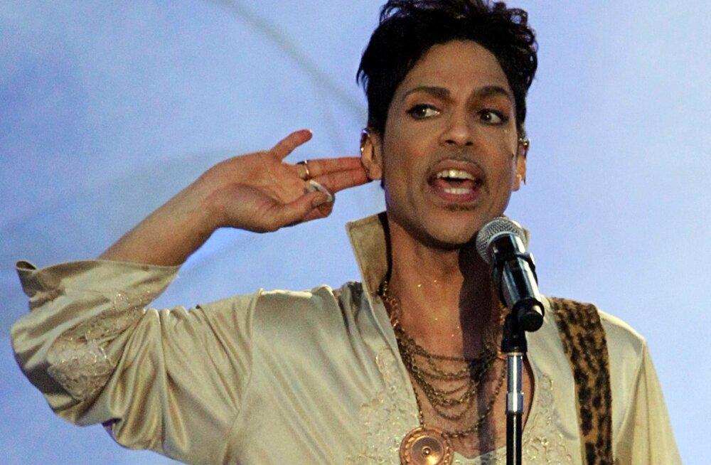 """VIDEO: Kuula, kuidas kõlas Prince'i megahitt """"Purple Rain"""" tema elu kõige viimasel kontserdil"""