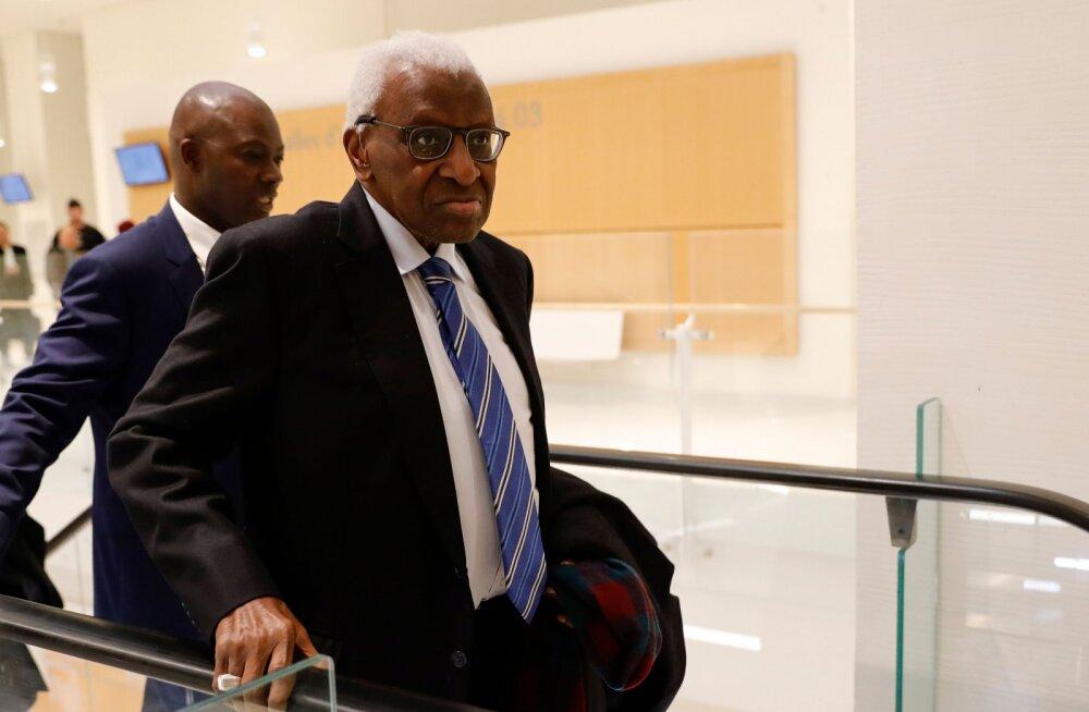 87-aastane endine IAAF-i president astub täna kohtu ette, võimalik karistus 10 aastat vanglat
