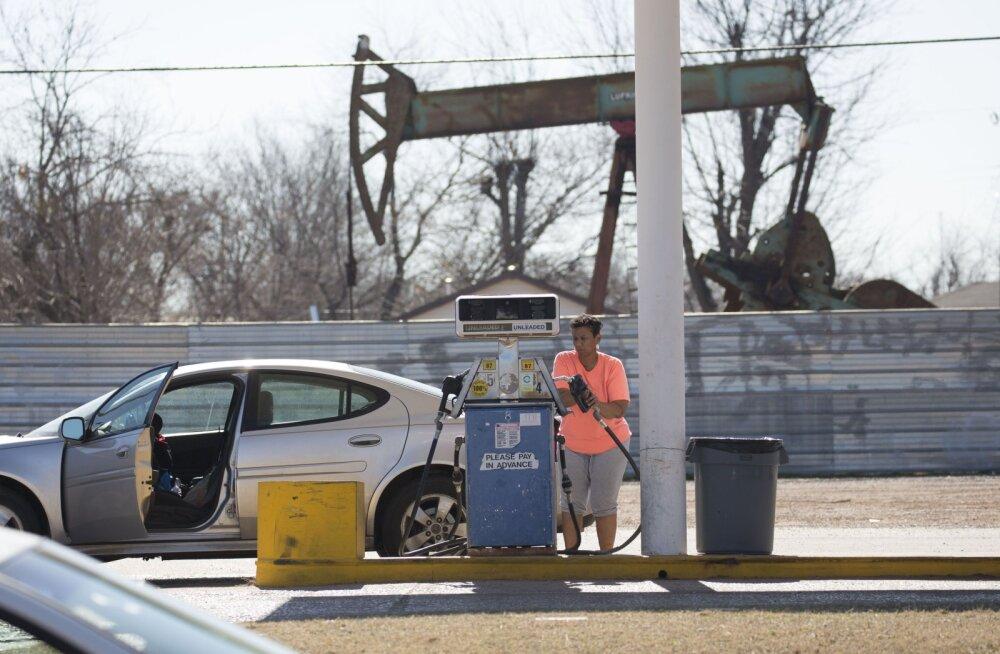 Nafta hind kerkis seitsme kuu rekordtasemele
