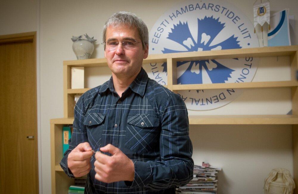 Hambaarstide Liidu president Marek Vink