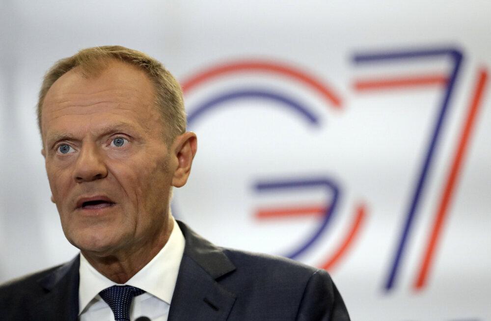 Tusk: Euroopa Liit on valmis Johnsoni ideid Brexti asjus kuulama