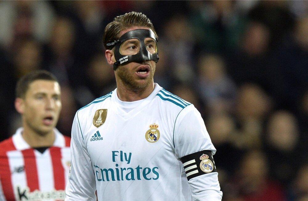 Punaste kaartide rekordimees Sergio Ramos