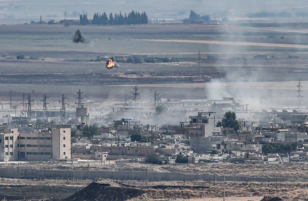 Kurdid sõlmisid Türgi vastu võitlemiseks kokkuleppe Süüria armeega