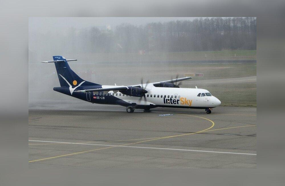 Estonian Airi liinile loodetud InterSky'ga on lõpp. Ettevõte lõpetas lennud