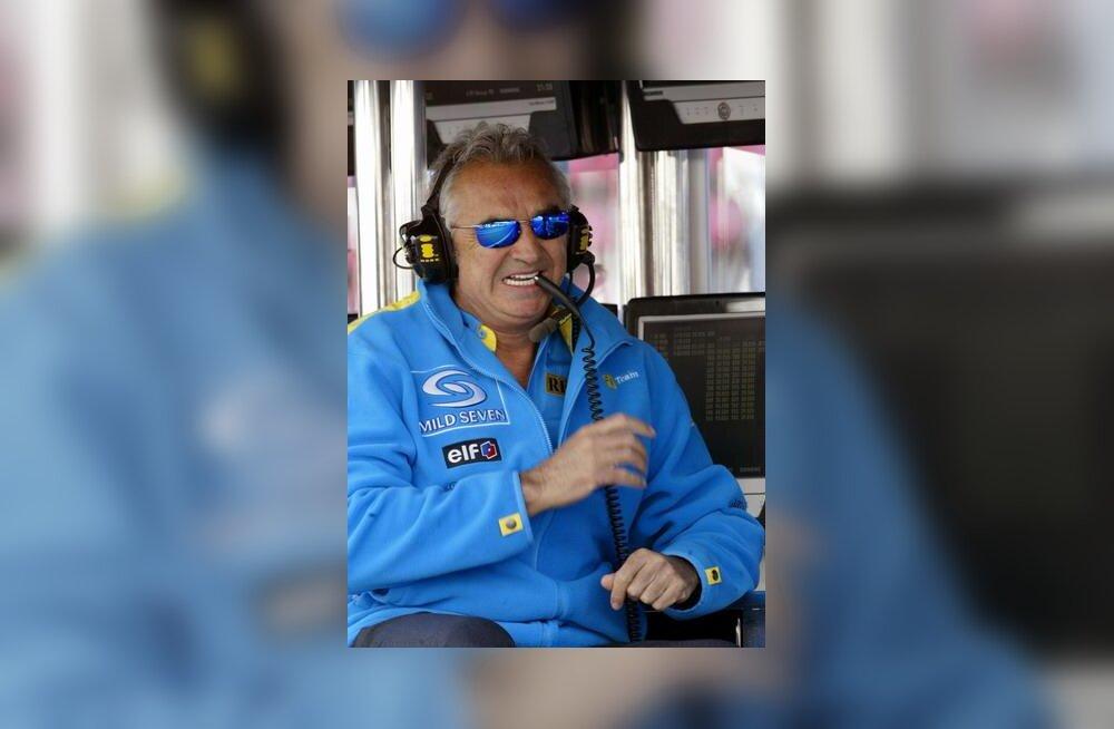 Flavio Briatore Hispaania GP-l
