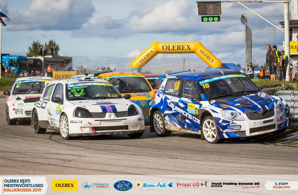 Rallikrossis selgusid Eesti meistrid, Supercaride seas oli parim Murakas