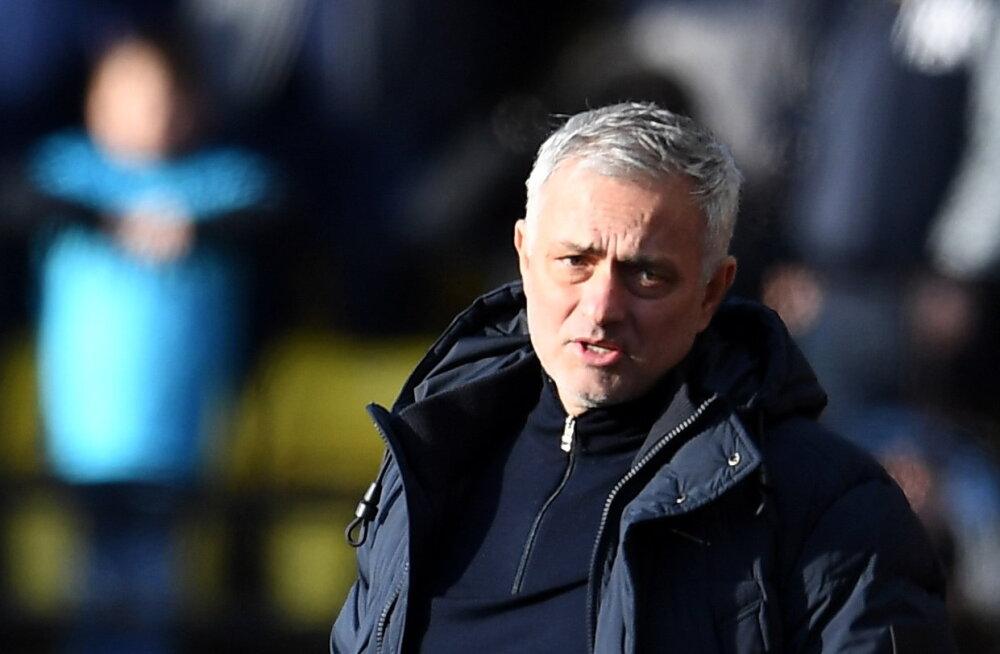 Mourinho ja Tottenham ei saa ennast kuidagi käima, viimane võit jääb eelmisesse aastasse