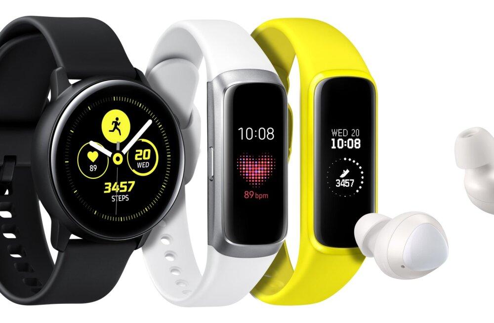 Теперь в продаже в и Эстонии: новые смарт-часы и беспроводные наушники Samsung Galaxy