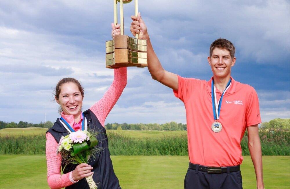 Eesti meistrivõistlused golfis 2017